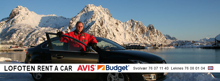 Avis Rental Car Lofoten Islands Norway